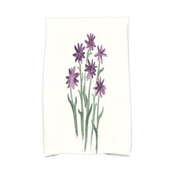 Rosalind Wheeler Holler Squeeze The Day 2 Piece 100 Cotton Hand Towel Set Wayfair