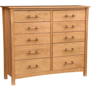 Monterey 10 Drawer Double Dresser