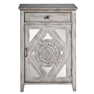 Tecumseh 1 Door Accent Cabinet by Bungalow Rose