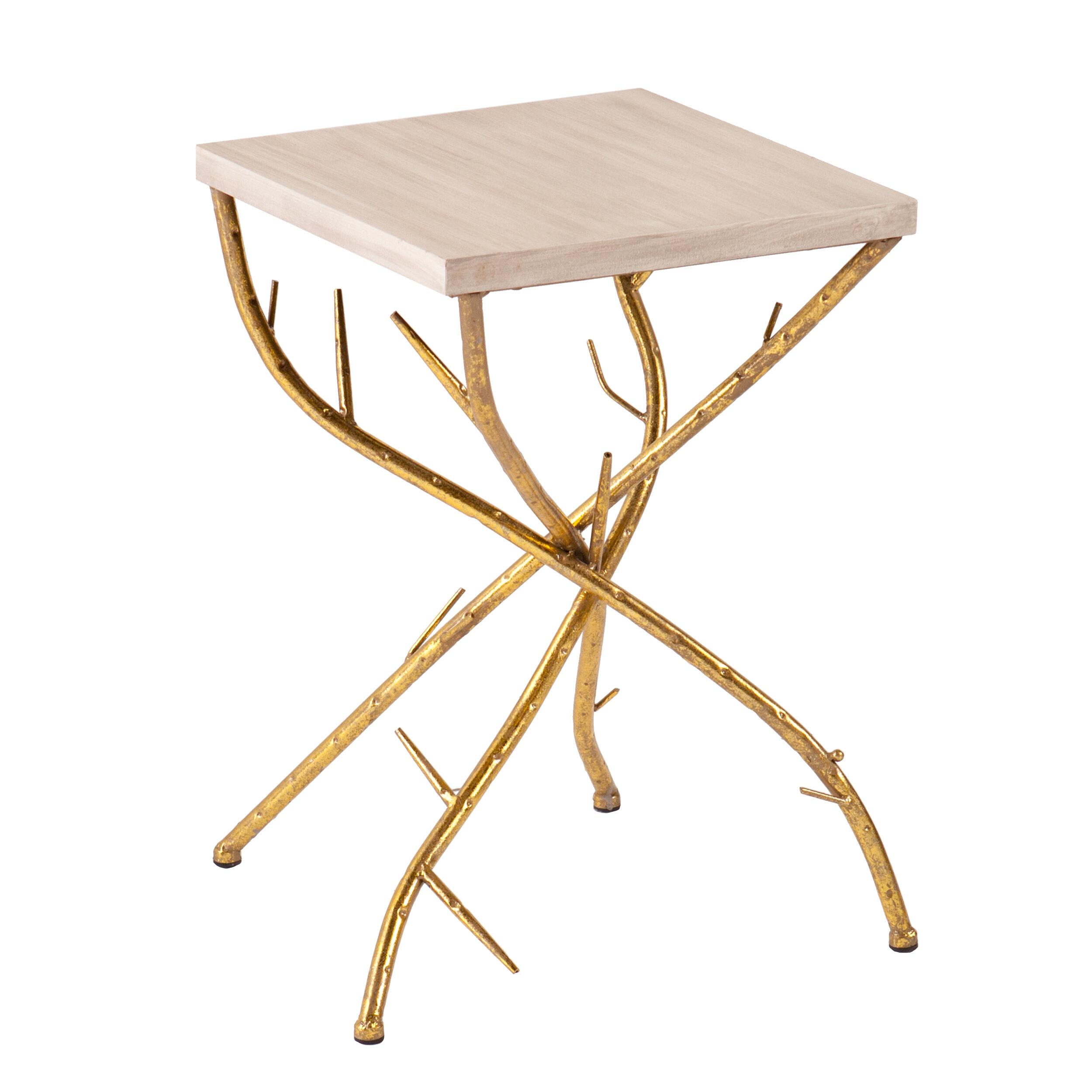 Home U0026 Haus Nymeria Branch Side Table U0026 Reviews   Wayfair.co.uk