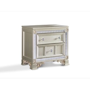 Chumbley 2 Drawer Nightstand by House of Hampton