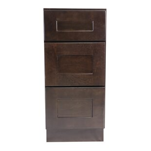 Brookings 34.5 x 18 Drawer Base Cabinet by Design House