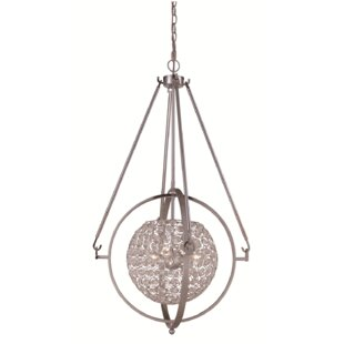 Eisenach 3-Light Globe Pendant by House of Hampton