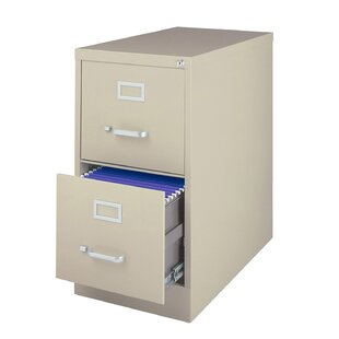 Kenya 2-Drawer Metal Letter Size Vertical Filing Cabinet