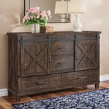 Daramanivong 4 Drawer Combo Dresser by Loon Peak®