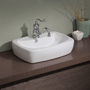 Affordable Thema Speciality Vitreous China Specialty Vessel Bathroom Sink ByCheviot Products