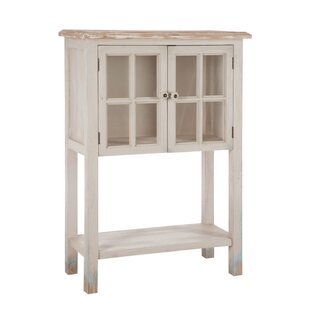 Alex 2 Drawer Window Curio Cabinet By House Of Hampton