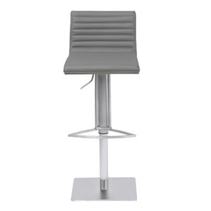 Harrell Adjustable Height Bar Stool by Orren Ellis