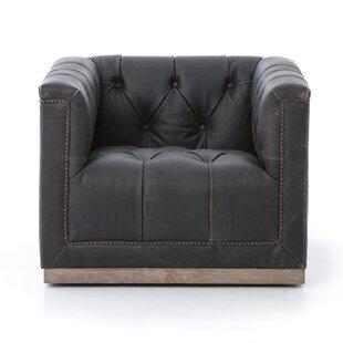 Oriana Swivel Arm Chair by Trent Austin Design