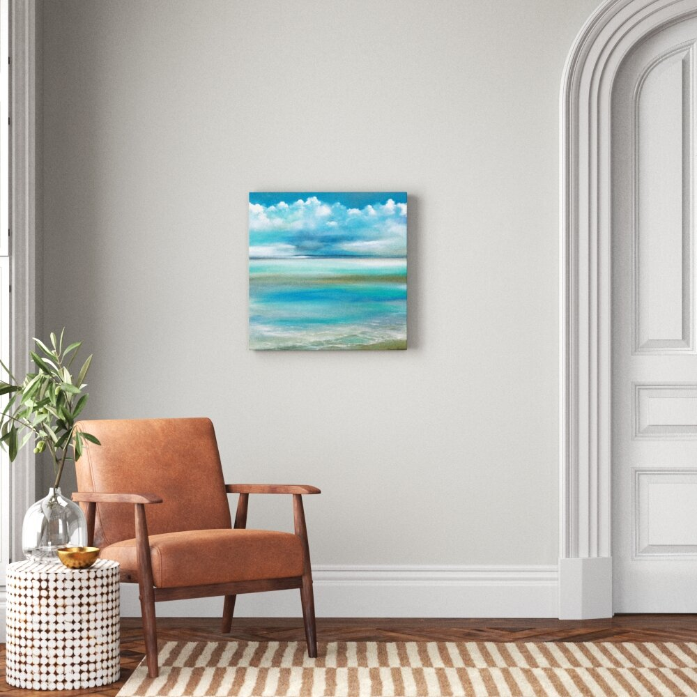 Tranquility By The Sea Ii Wrapped Canvas Painting On Canvas Reviews Joss Main