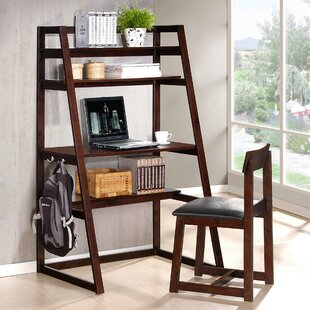 Wildon Home ® Ladder Desk and Chair Set