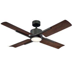 Buying 56 Cervantes 4 Blade Outdoor LED Ceiling Fan with Remote By Modern Forms