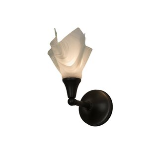 Meyda Tiffany Metro Blanco 1-Light Candle Wall Light