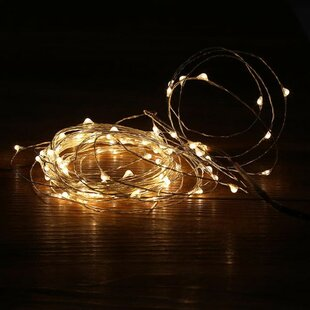 The Holiday Aisle Battery 50 LED String Lights