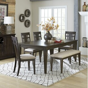 Hagood 6 Piece Extendable Dining Set by G..