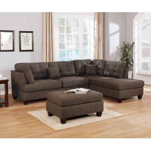 Morrigan Reversible Sectional with Ottoman