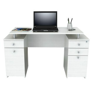 Danya Engineered Wood Computer Desk by Latitude Run Wonderful