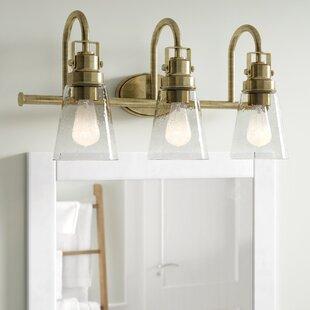 Mullikin 3-Light Vanity Light ByBeachcrest Home