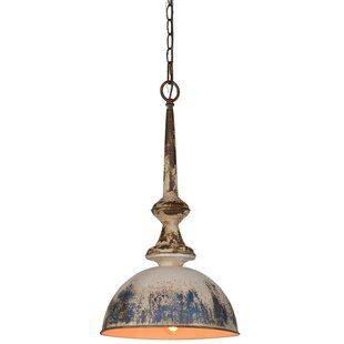 Ritter 1-Light Dome Pendant By World Menagerie