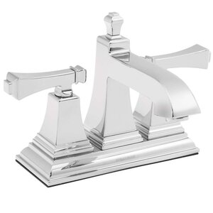Rainier Double Handle Centerset Bathroom Faucet
