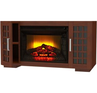 Reviews Northbridge TV Stand for TVs up to 52 with Electric Fireplace by Ebern Designs Reviews (2019) & Buyer's Guide