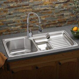 harmony 43   x 22   kitchen sink elkay harmony 43   x 22   kitchen sink   wayfair  rh   wayfair com