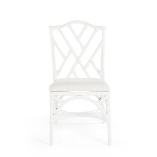 Margrett Rattan Side Chair (Set of 2)