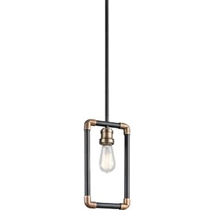 Abree 1-Light Square/Rectangle Pendant by Trent Austin Design