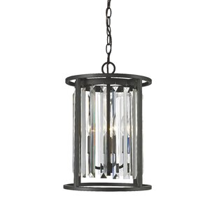 Cavanaugh 3-Light Cylinder Pendant by Rosdorf Park