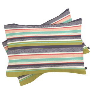 Wendy Kendall Stripe Pillow Case (Set Of 2) by Deny Designs Top Reviews