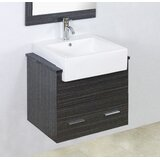 Mulberry Wall Mount 74 Wall-Mounted Double Bathroom Vanity Set by Royal Purple Bath Kitchen