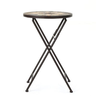 Rubicon Folding Side Table by Charlton Home