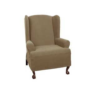 T-Cushion Wingback Slipcover by Darby ..