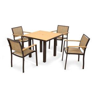 POLYWOOD® Bayline™ 5 Piece Dining Set