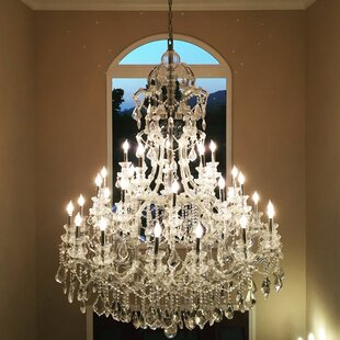 Astoria Grand Kiazolu 48-Light Candle Style Chandelier