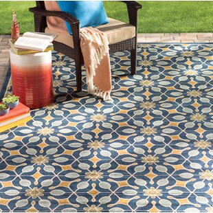 Monterey Navy Indoor Outdoor Area Rug