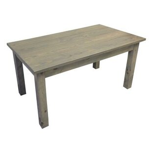 Arrowpoint Rectangular Wood Solid Wood Dining Table