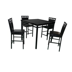 Eric 5 Piece Counter Height Dining Set