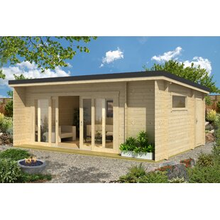 Rippeon 20 X 13 Ft. Tongue & Groove Summer House By Sol 72 Outdoor