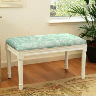 Gracie Oaks Albion Fern Wood Bench