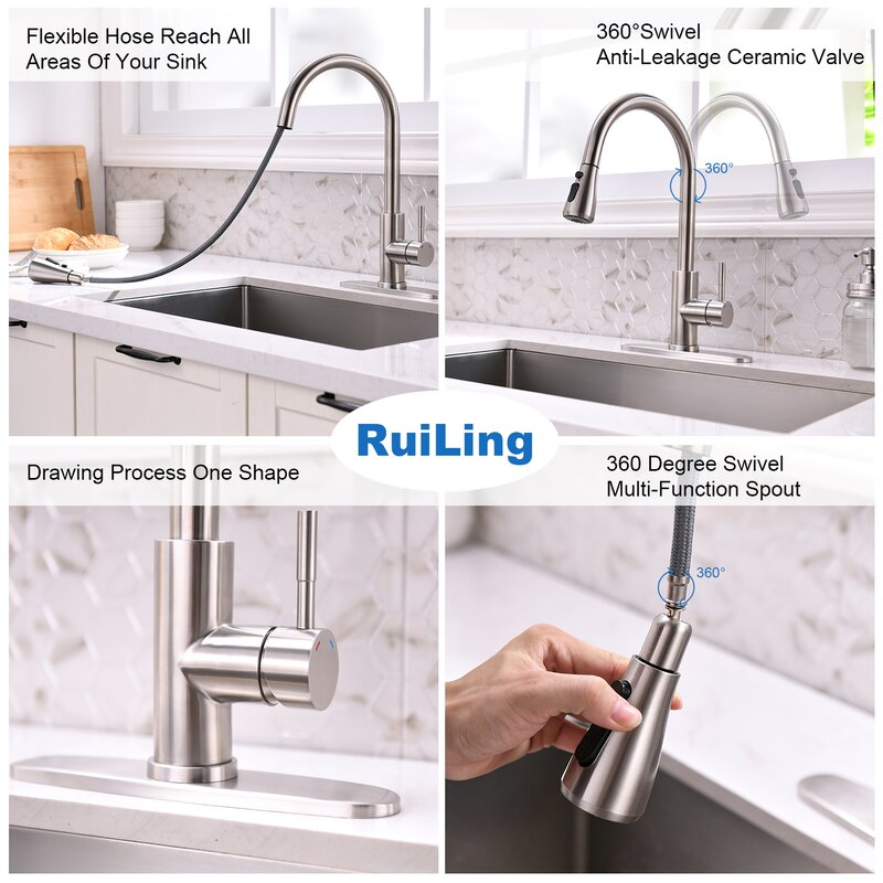 O 2pcs Hose Weight Kitchen Basin Faucet Sink Pull Out Weight Faucet Replacement Part Mimbarschool Com Ng