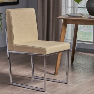 Hanneman Modern Upholstered Dining Chair by Orren Ellis 2019 Coupon