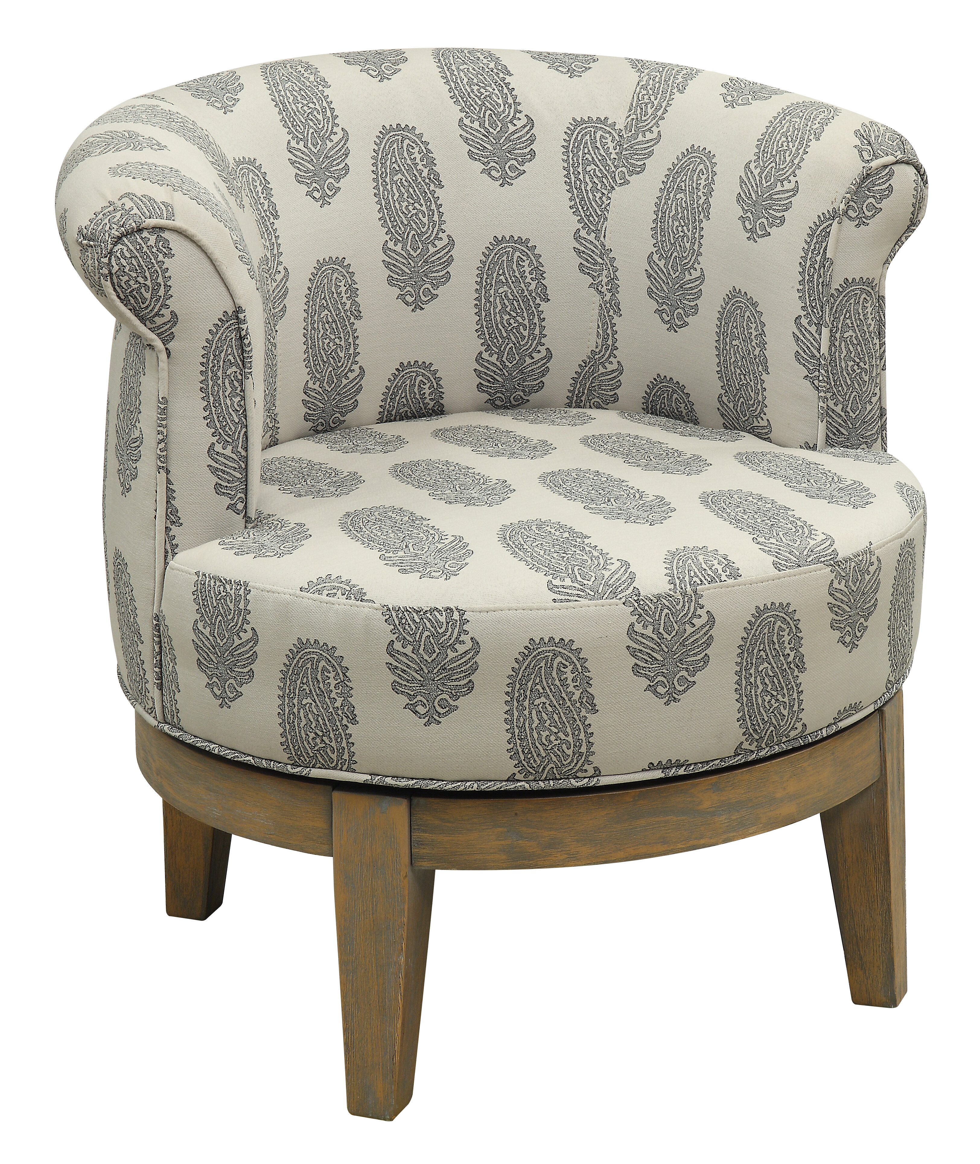 Picture of: Haywood Swivel Barrel Chair Reviews