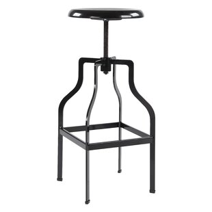 Price comparison Compton Adjustable Height Swivel Bar Stool by Williston Forge Reviews (2019) & Buyer's Guide