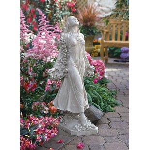 Flora Divine Patroness Statue By Design Toscano