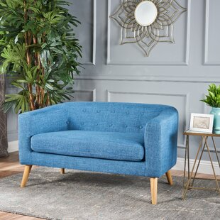 Authentic Fabric Loveseat