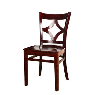 Fralick Solid Wood Dining Chair (Set of 2) Bloomsbury Market