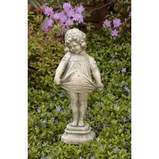 Campania International Shy Girl Statue
