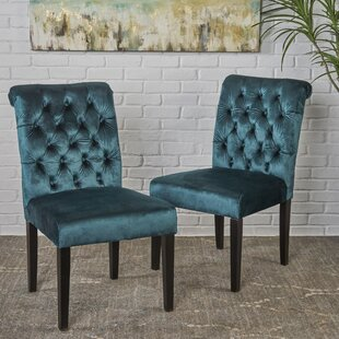 Lyra Tufted Upholstered Dining Chair (Set of 2)