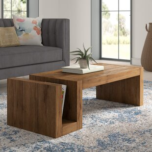 Caspar Coffee Table by Mistana Spacial Price